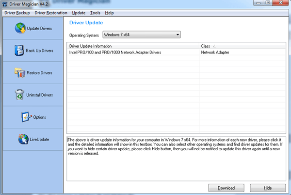 Software to Automatically Backup or Update PC Device Drivers