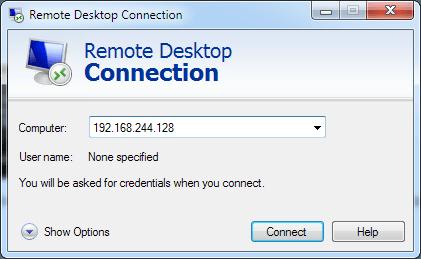 win7 remote desktop