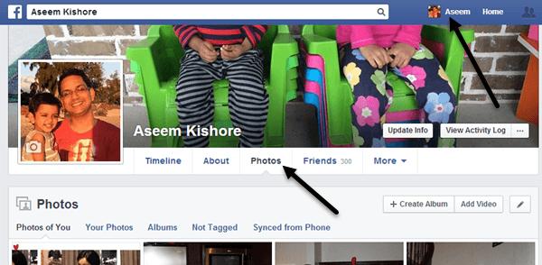 facebook photos