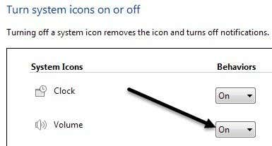 volume icon on