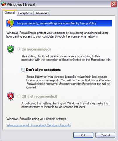 how to turn off your popup blocker and firewall