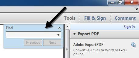 Pdf Search And