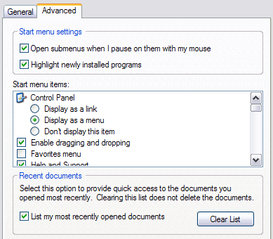 How to Clear or Delete My Recent Documents in Windows
