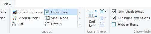file name extensions