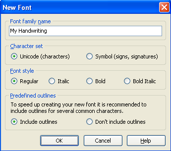 How to Create Your Own Fonts and Edit TrueType Fonts