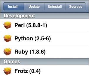 ipod installer sources
