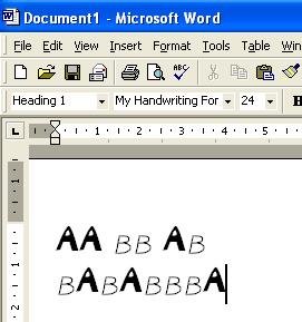 windows fonts