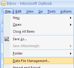 data file management