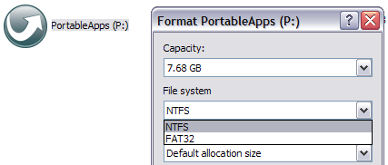 file system ntfs