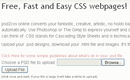 How To Convert Photoshop Designs to CSS Website ~ Techno Guide