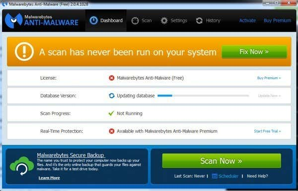 best free trojan and malware removal software