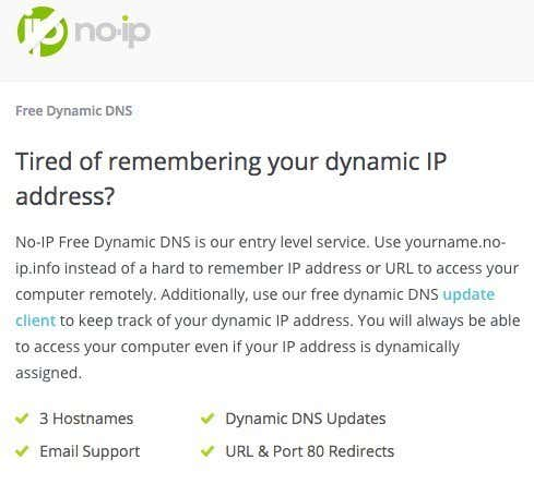 How to Setup Free Dynamic DNS for Remote Access to Your PC » Cadan Technologies