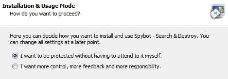 spybot install