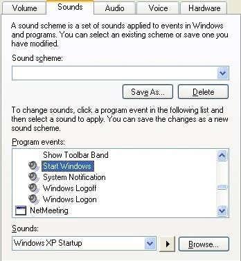 start windows xp