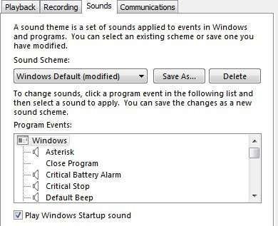 windows 7 sounds