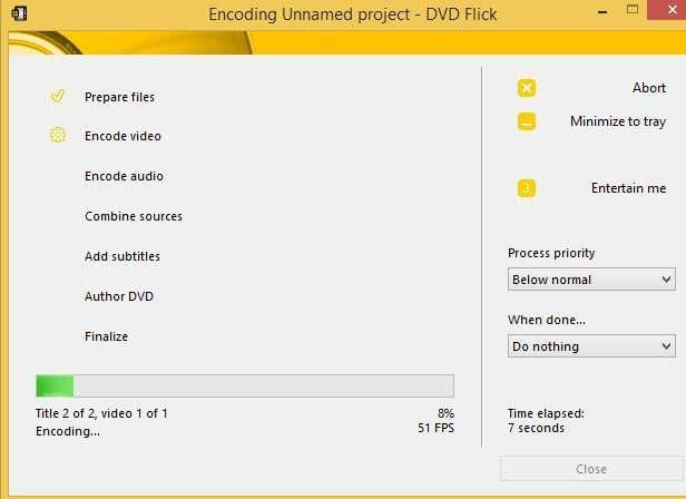 create dvd project