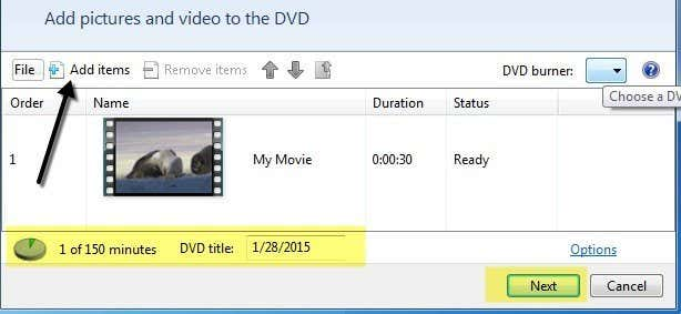 create playable dvd