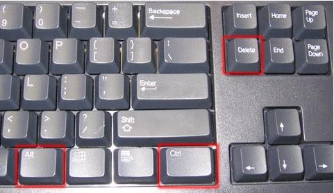 ctrl alt delete equivalent mac keyboard