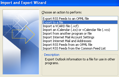 exportar a un archivo