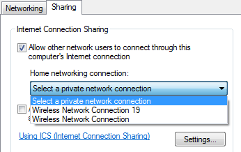 home networking connection