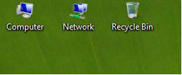 change vista desktop icon size
