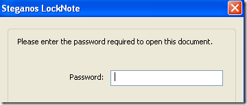 password protected file