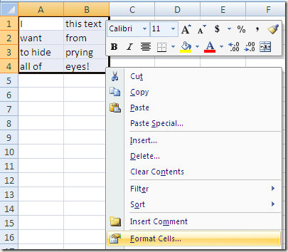 How to hide tabs, cells, columns, and formulas in Excel Formatcells-thumb