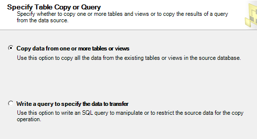how to copy data