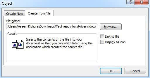 how to create a corrupt word file