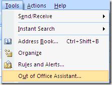 Cómo Establecer la Distancia de Mensaje en Outlook