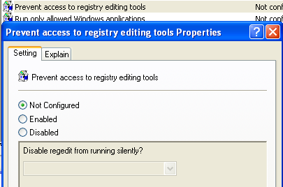 Fix Registry Editing has been Disabled by Your Administrator