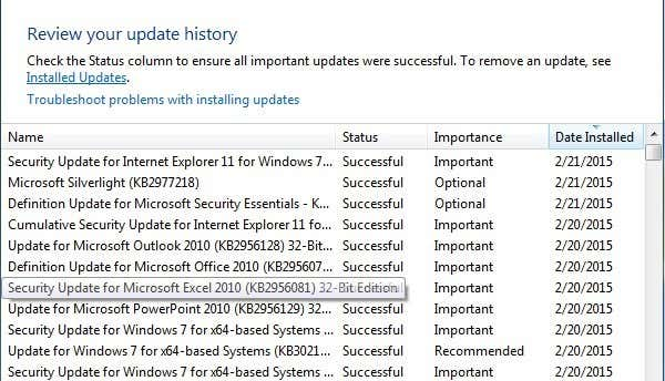 How to Uninstall and Reinstall Windows Updates