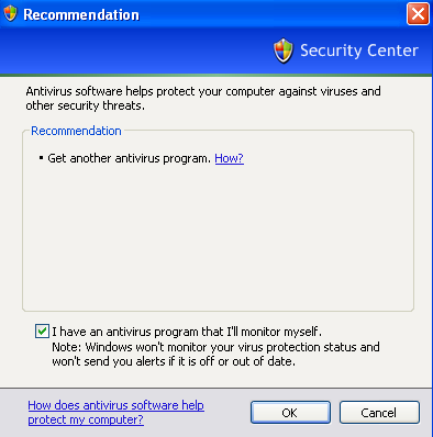 how do i get antivirus off my computer
