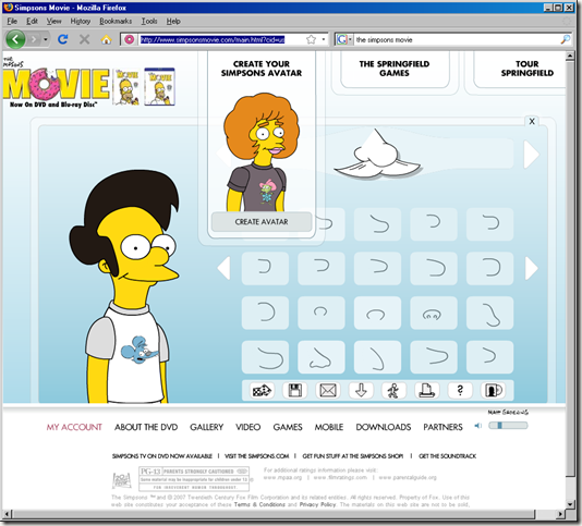 Make your own Simpson character | Back t Mercury: onlyecho.wordpress.com/2008/11/20/make-your-own-simpson-character