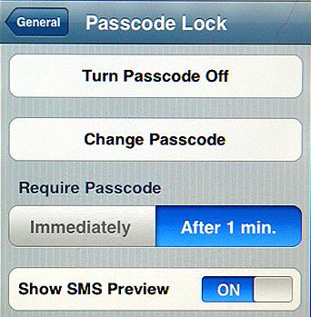 Apple app that hides text messages