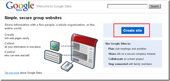 How to Create Your Own Google Sites Website