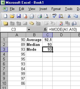 download statistics formulas mean median mode gantt