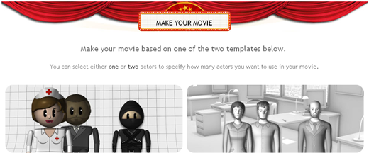 make your own animated movie