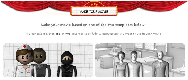 how to make your own animated movie online for free