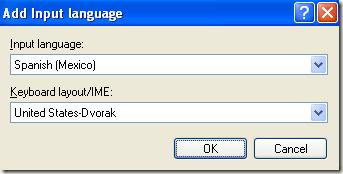 change keyboard layout