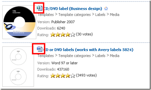 Computer World Create Your Own Cd And Dvd Labels Using Free Ms Word