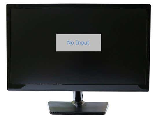 Fix Blank or Black Monitor Problem on a PC