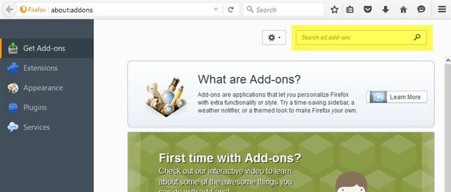 How to Use Firefox Addons
