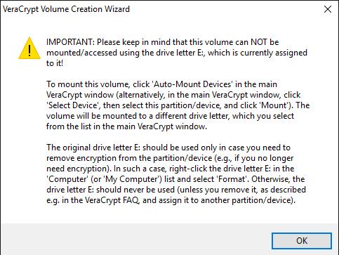 hidden volume access