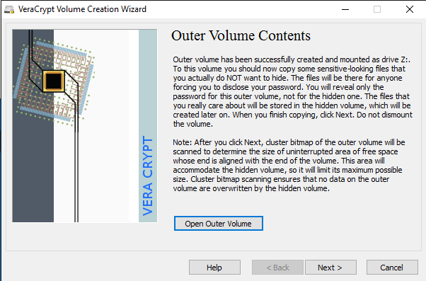 outer volume contents