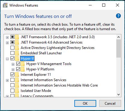 install hyper-v server on windows 7