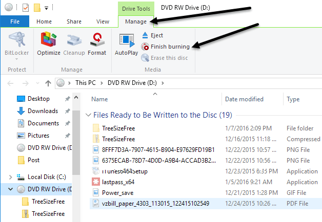 How to Burn CDs, DVDs, and Blu-ray Discs in Windows