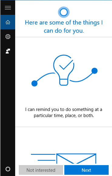 enable cortana