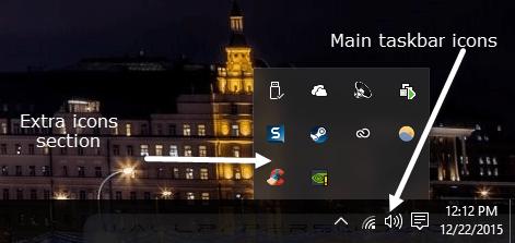 extra icons