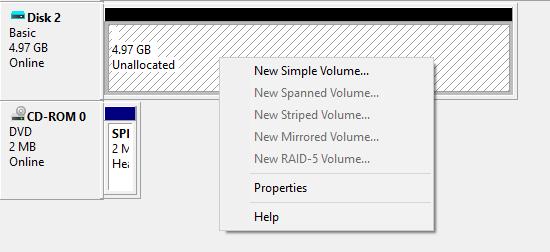 new simple volume